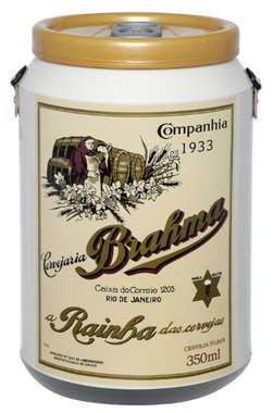 Cooler para 24 latinhas - Brahma - Rótulo 1933