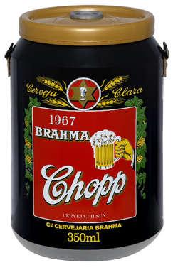 Cooler para 24 latinhas - Brahma - Rótulo 1967