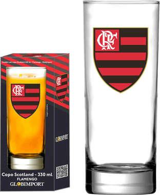 Copo Cerveja Sou Flamengo 330 ml - Coleção Oficial