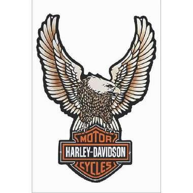 Placa MDF Harley Águia