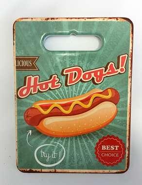 Suporte para panela de cerâmica e cortiça - Hot Dog