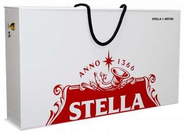 Edição Colecionador - Maleta 4 Cálices Stella Artois 250 ml