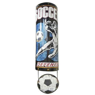 Enfeite Decorativo de Metal Futebol