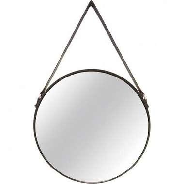 Espelho Decorativo Preto Metal 7293 - Mart Collection