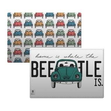 Jogo americano para mesa - Beetle - Volkswagen Coleção Oficial - 2pçs