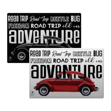 Jogo americano para mesa - Road Trip - Volkswagen Coleção Oficial - 2pçs