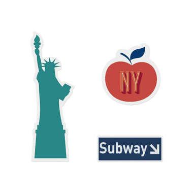 Jogo de imãs - New York Subway