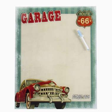 Lousa de Vidro com impressão digital - Garage