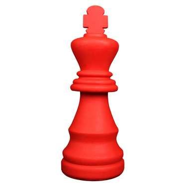 Luminária Formato Rei - Vermelha