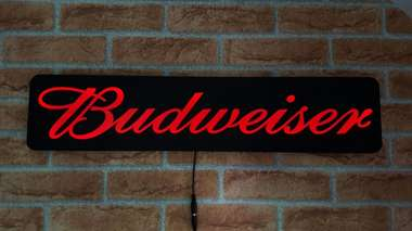 Luminoso Budweiser - 70cm