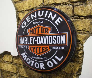 Luminoso Harley Davidson - 40 cm