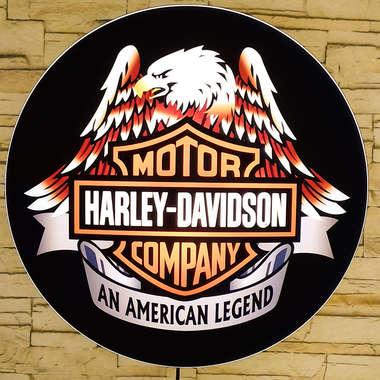 Luminoso Harley Davidson - 40 cm  M2