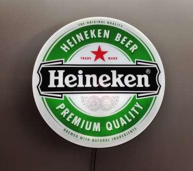 Luminoso Heineken Logo - 40 cm