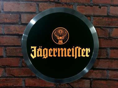 Luminoso Jägermeister - 31 cm