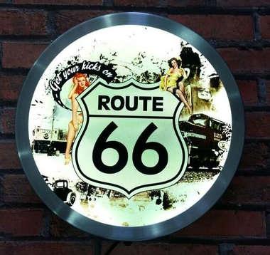 Luminoso Route 66 - 31cm