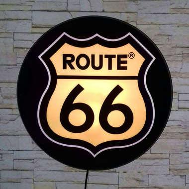 Luminoso Route 66 - 40 cm