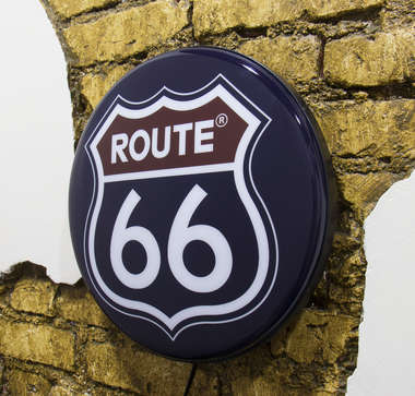 Luminoso Route 66 - 40 cm