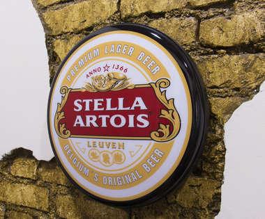 Luminoso Stella Artois - 40 cm