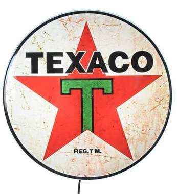 Luminoso Texaco - 40 cm
