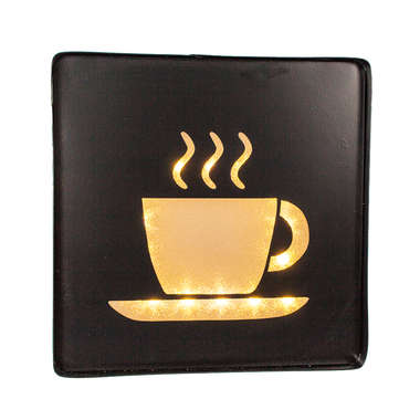 Luminoso a pilha Café - LED