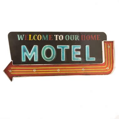 Luminoso a pilha - Motel - LED