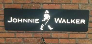 Luminoso com LED  Johnnie Walker