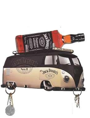 Porta Chaves Kombi Jack Daniels