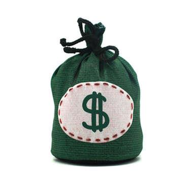 Peso para porta - Saco de Dinheiro