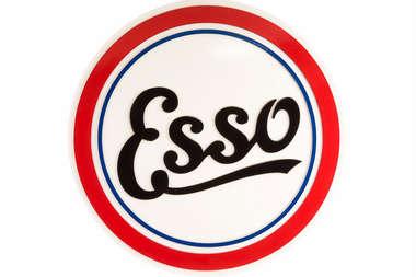 Placa Artesanal Laqueada - Esso