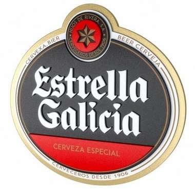 Placa Decorativa MDF Pintura Laca  - Estrella Galícia
