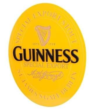 Placa Artesanal Laqueada - Guinness