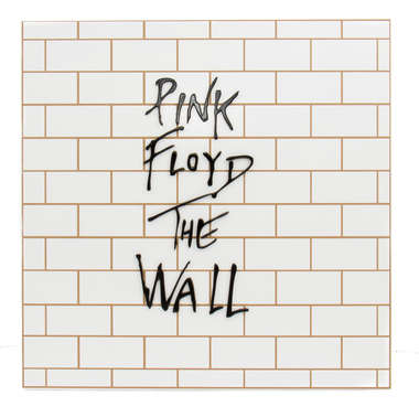 Placa Decorativa MDF e Pintura Laca - Pink Floyd The Wall