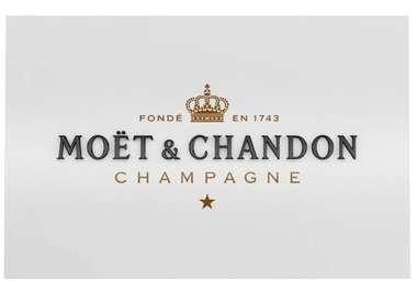 Placa Artesanal Moët & Chandon