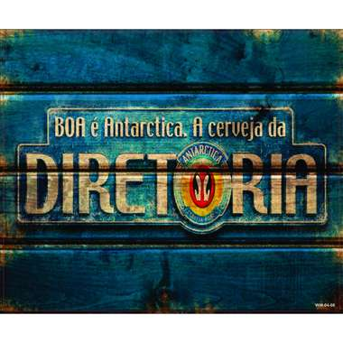 Placa Decorativa MDF - Diretoria