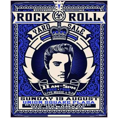 Placa Decorativa MDF - Just Elvis