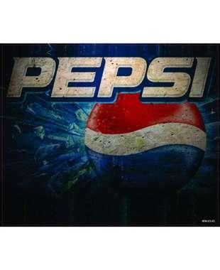 Placa Decorativa MDF - Just Pepsi - 18x22 cm
