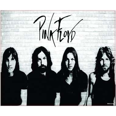 Placa Decorativa MDF - Pink Floyd