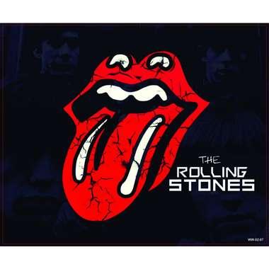 Placa Decorativa MDF - The Rolling Stones