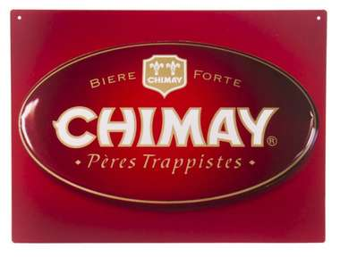 Placa Decorativa de Metal 30x20cm - Chimay