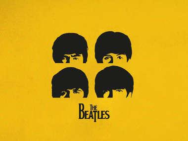 Placa Decorativa de Metal 30x40cm - Beatles Yellow - LANÇAMENTO