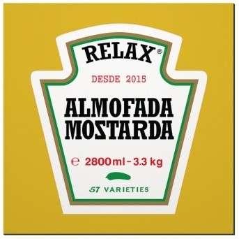 Placa MDF Mostarda - 20 x 20 cm
