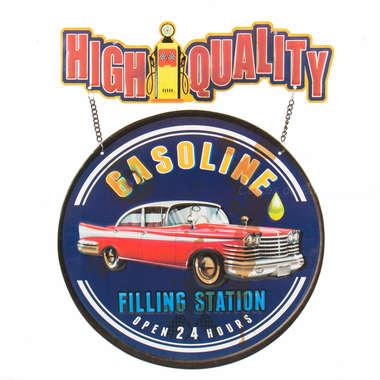 Placa Metal High Quality
