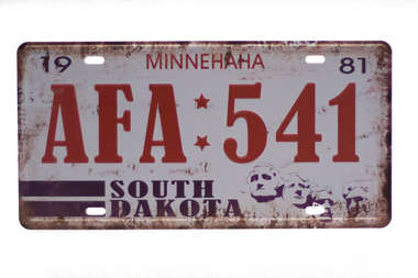 Placa Metal Vintage - Minnehaha