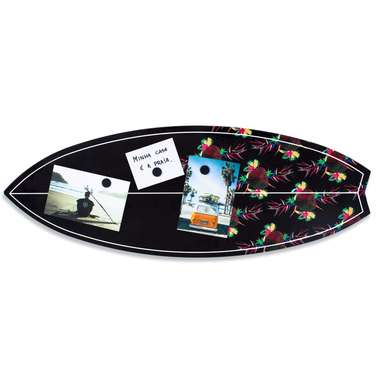 Placa Mural Decorativo - Surf - 25 x 70,5 cm
