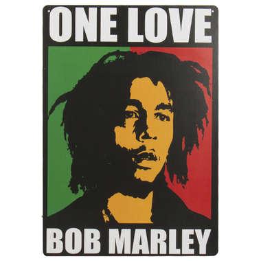 Placa em MDF - Bob Marley