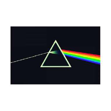 Placa em MDF - Dark Side of the Moon