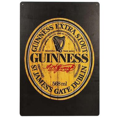 Placa em MDF - Guinness Beer