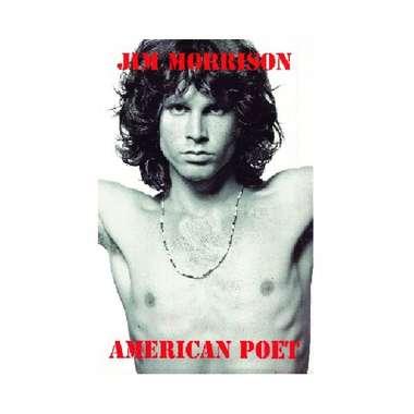 Placa em MDF - Jim Morrison