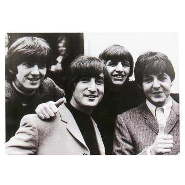 Placa em MDF - The Beatles