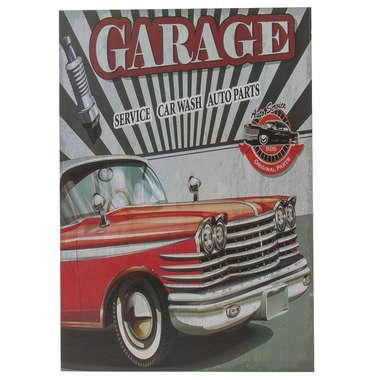 Placa em Madeira - Garage